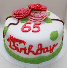 65 jaar taart